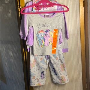 My Little pony 4 set sleepwear